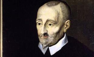 Portrait posthume du poète Pierre de Ronsard par l'Ecole de Blois.