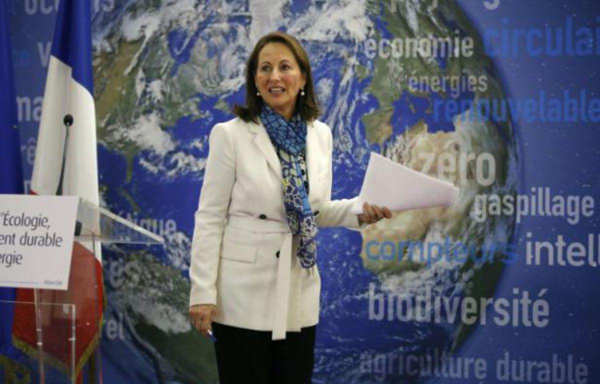 La ministre française de l'Ecologie Ségolène Royal, le 14 janvier 2016 à Paris – PATRICK KOVARIK AFP