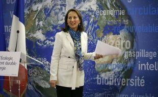 La ministre française de l'Ecologie Ségolène Royal, le 14 janvier 2016 à Paris