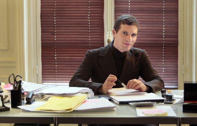 Jérémie Assous dans son bureau en novembre 2008.