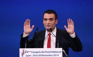Florian Philippot, vice président du FN, le 29-11-2014.