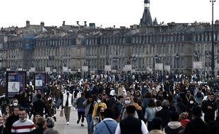 Les quais de Bordeaux ce dimanche 28 février.