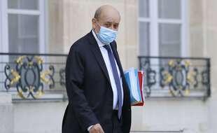 Jean-Yves Le Drian, chef de la diplomatie française