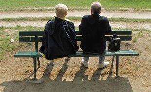 Illustration - Vie quotidienne des retraités. 04/2010