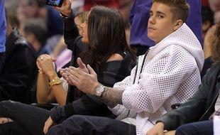 Justin Bieber, le 11 mai 2014, à Los Angeles.