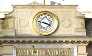L'Assemblée nationale, Paris, le 15 novembre 2010.