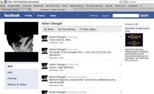Un profil d'utilisateur sur Facebook Lite