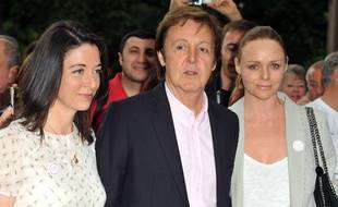 Mary, Paul et Stella McCartney