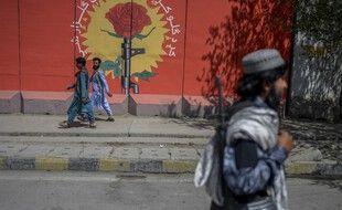 Un taliban dans les rues de Kaboul le 15 septembre 2021.