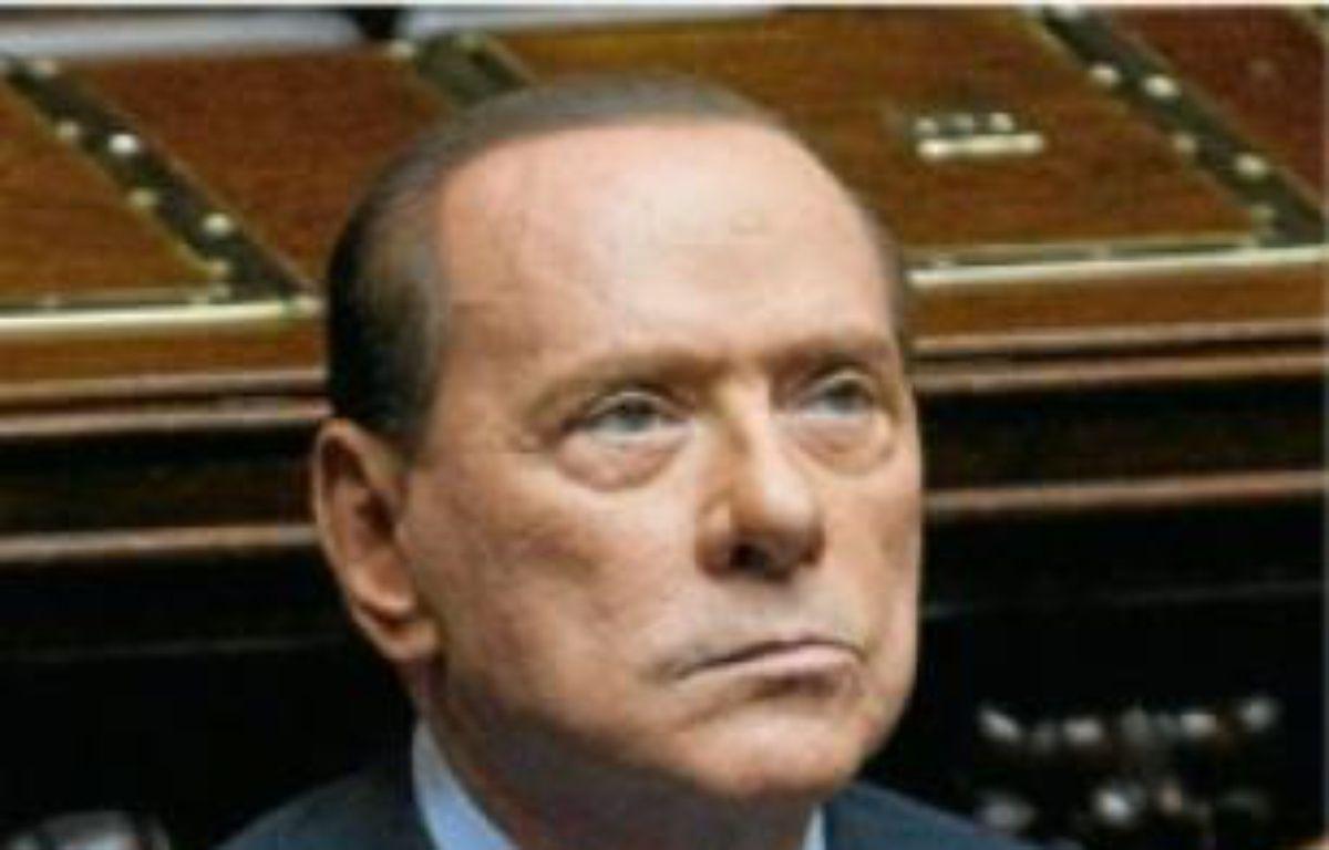 Le Cavaliere ne se représentera pas. –  A. MEDDICHINI / AP / SIPA