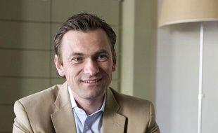 Paris, le 14 mai 2012 Benoit Legrand, PDG d'ING DIRECT, au siège de la banque