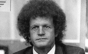 L'entraîneur de l'AS Saint-Etienne, Robert Herbin, ici en 1987, est décédé le 27 avril 2020.