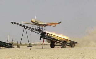 Illustration d'un drone militaire.