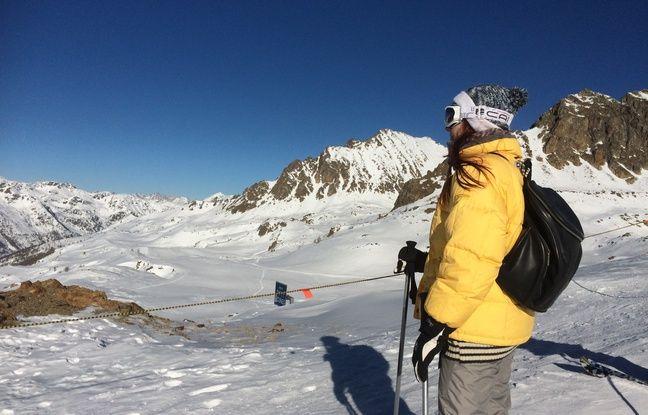 Les Niçois profitent des pistes d'Isola 2000, le vendredi 30 janvier 2016.