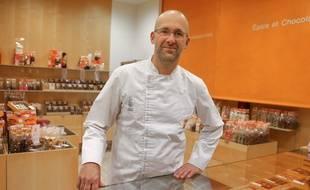Le pâtissier Thierry Mulhaupt.