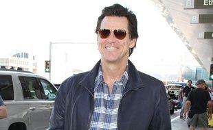 Jim Carrey, souriant