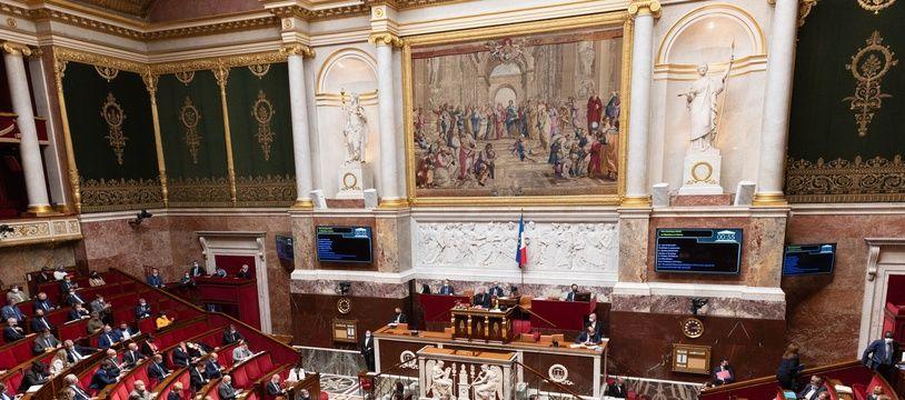 L'Assemblée nationale, le 1er juin 2021.