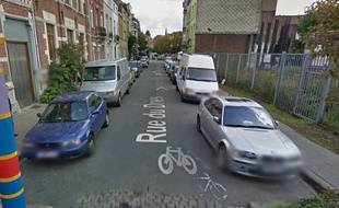 C'est dans cette rue de Bruxelles qu'aurait éclaté la fusillade.