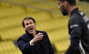 Rudi Garcia, l'entraîneur de l' OL.