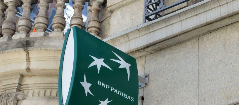 Une agence BNP Paribas à Grenoble. (illustration)
