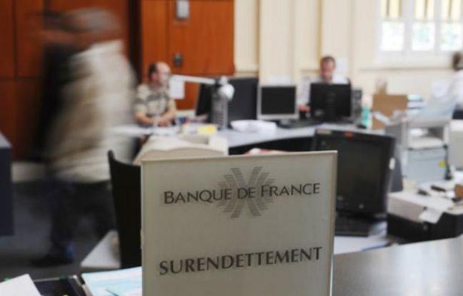 Les locaux de la branche surendettement de la Banque de France, le 12 octobre 2009.