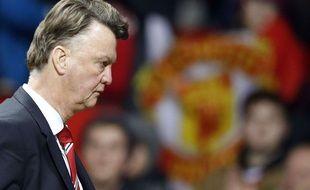 Louis van Gaal après le match entre Manchester United et Chelsea le 28 décembre 2015.