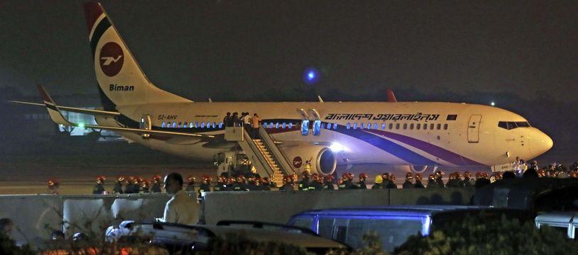 Un homme aurait tenté de détourner un avion à l'aéroport de Chittagong, dimanche 24 février.