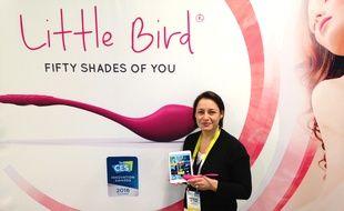 Christel Le Coq et son Little Bird participent au CES du 6 au 9 janvier.