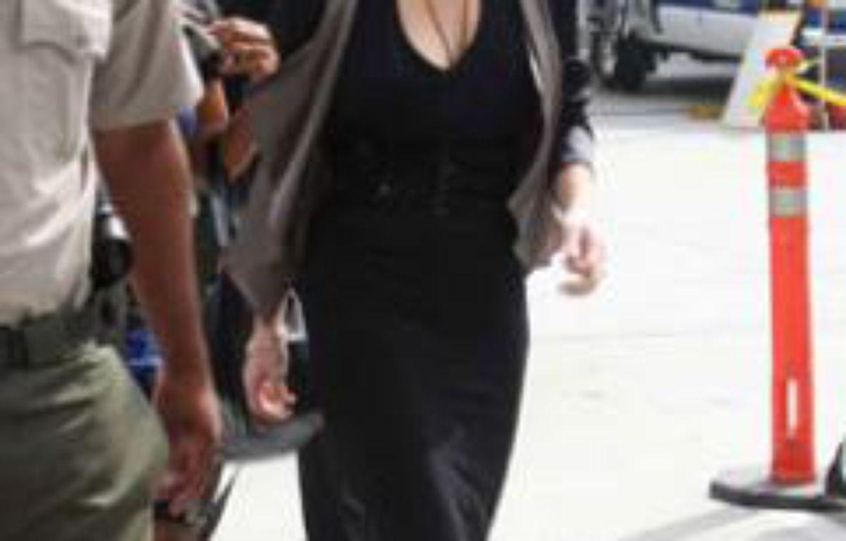 Lindsay Lohan a son arrivée au tribunal, à Los Angeles, le 21 juillet 2011. – PETER BROOKER/REX FEATUERES/SIPA