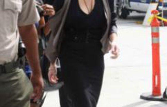 Lindsay Lohan a son arrivée au tribunal, à Los Angeles, le 21 juillet 2011.
