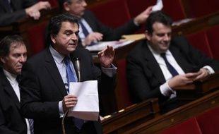 Le député UMP Pierre Lellouche le 8 avril 2015 à l'Assemblée nationale à Paris