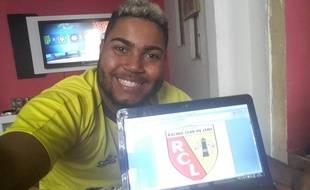 Pedro a découvert le RC Lens via Football Manager