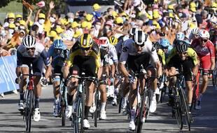 Le sprint sur le Tour