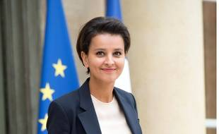 La ministre de l'Education nationale Najat Vallaud-Belkacem.