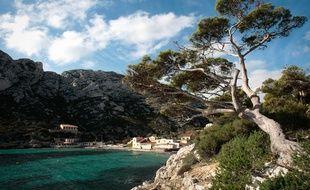 La calanque de Sormiou à Marseille