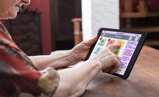Des automatismes ont été développés pour rendre l'usage de la tablette plus évident.