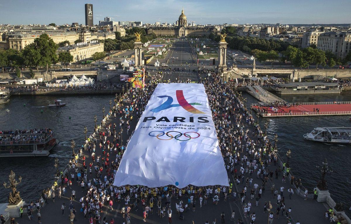 La candidature de Paris à l'organisation des Jeux olympiques de 2024 a connu un moment important avec les journées olympiquées, les 23 et 24 juin 2017.  – Stephane Allaman/SIPA