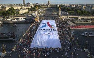 La candidature de Paris à l'organisation des Jeux olympiques de 2024 a connu un moment important avec les journées olympiquées, les 23 et 24 juin 2017.