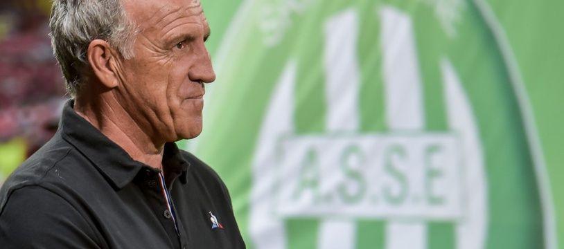 Ghislain Printant n'est plus l'entraîneur des Verts après un départ cata en L1.
