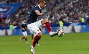 Antoine Griezmann lors de France-Belgique le 7 juin 2015.