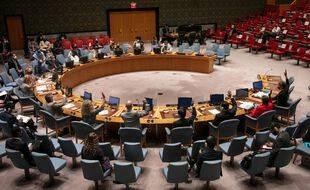 La salle du Conseil de sécurité de l'ONU. (illustration)