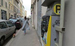 Illustration du stationnement à Marseille
