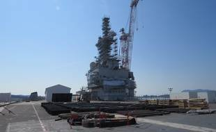 Le pont d'envol du Charles-de-Gaulle va également bénéficier d'un lifting