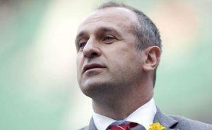 Philippe Saint-André, manager de l'équipe de France de rugby, photo prise le 15 mars 2014.