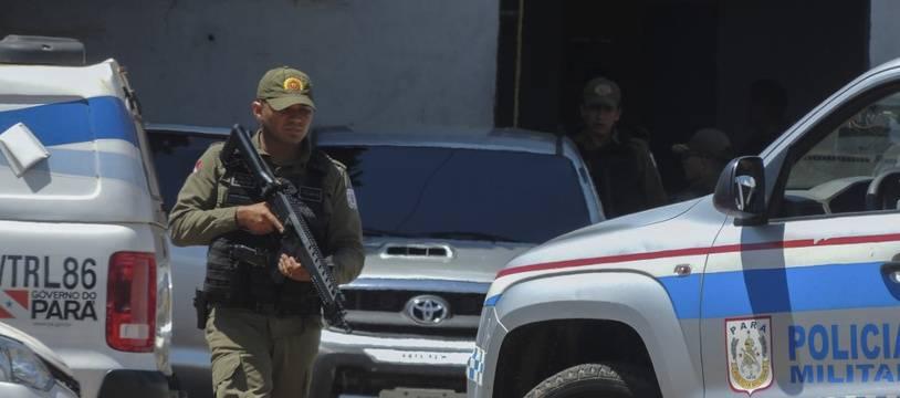 (Illustration) Un officier de police au Brésil.