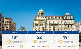 Météo Lyon: Prévisions du samedi 30 mai 2020