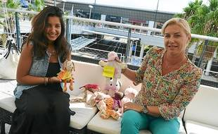 Avec Sabrina (à g.) et Sandrine, les doudous sont entre de bonnes mains.