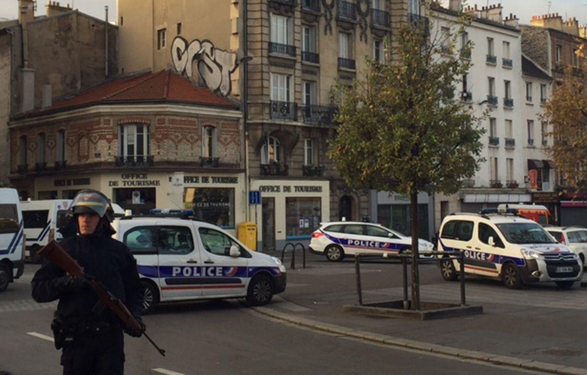 Un assaut en cours à Saint-Denis le 18 novembre 2015.  – J. Hitchcock / 20 Minutes
