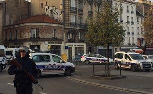 Un assaut en cours à Saint-Denis le 18 novembre 2015.