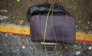 Les bagages d'un migrant. Illustration.